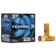FEDERAL TOP GUN 20ga STEEL 7/8 oz 2.75 #7 250/case