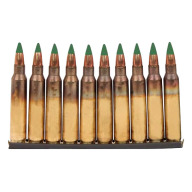 FEDERAL (LC) AMMO 5.56mm 62gr GRN-TIP CLIPPED 30bx 20cs