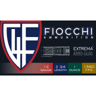 "FIOCCHI SLUG 12ga 2.75"" 3-GUN 1300fps 7/8oz 10/bx 25/cs"
