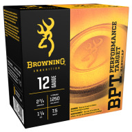 BROWNING AMMO 12ga 3d 1-1/8oz 1250fps #7.5 250/cs