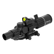 Burris RT6 Rifle Scope 1-6x24mm 30mm Tube Matte Illuminated Ballistic AR Reticle with Fast Fire III and AR-PEPR Mount
