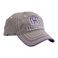 HORNADY GRAY & PURPLE CAP for LADIES