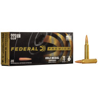FEDERAL AMMO 223 REMINGTON 73gr BERGER HYB BTHP 20/b 10/c