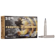FEDERAL AMMO 30-06 SPR 175gr EDGE TLR 20/bx 10/cs