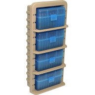 MTM AMMO RACK w/4-RS-50 AMMO BOXES 6/CS