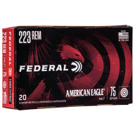 FEDERAL AMMO 223 REMINGTON 75gr TMJ AM.-EAGLE 20/bx 25/cs