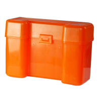BERRY ULTRA MAG HINGE-TOP BOX 20-RND H.ORANGE 50/cs