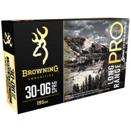 BROWNING AMMO 30-06 SPR 195gr MATCH RIFLE 20/bx 10/cs