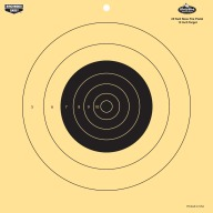 "BIRCHWOOD-CASEY DIRTY-BIRD 12"" 25yd PISTOL TGT 12pk 6cs"