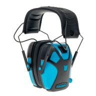 CALDWELL YOUTH ELECTRONIC EARMUFF NEON BLUE