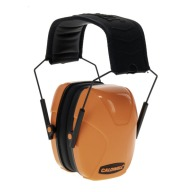 CALDWELL YOUTH PASSIVE EARMUFF HOT CORAL