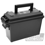 MTM 30c AMMO CAN TALL BLACK 8/CS