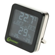 LOCKDOWN DIGITAL HYGROMETER