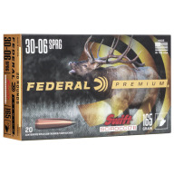 FEDERAL AMMO 30-06 SPR 165gr SWIFT SCIROCCO 20/bx 10/c