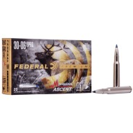 FEDERAL AMMO 30-06 SPR 175gr TERMINAL ASCENT 20bx 10cs