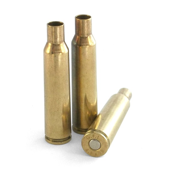 Fiocchi Brass 6.5x55 Swedish Mauser Primed Bag of 100